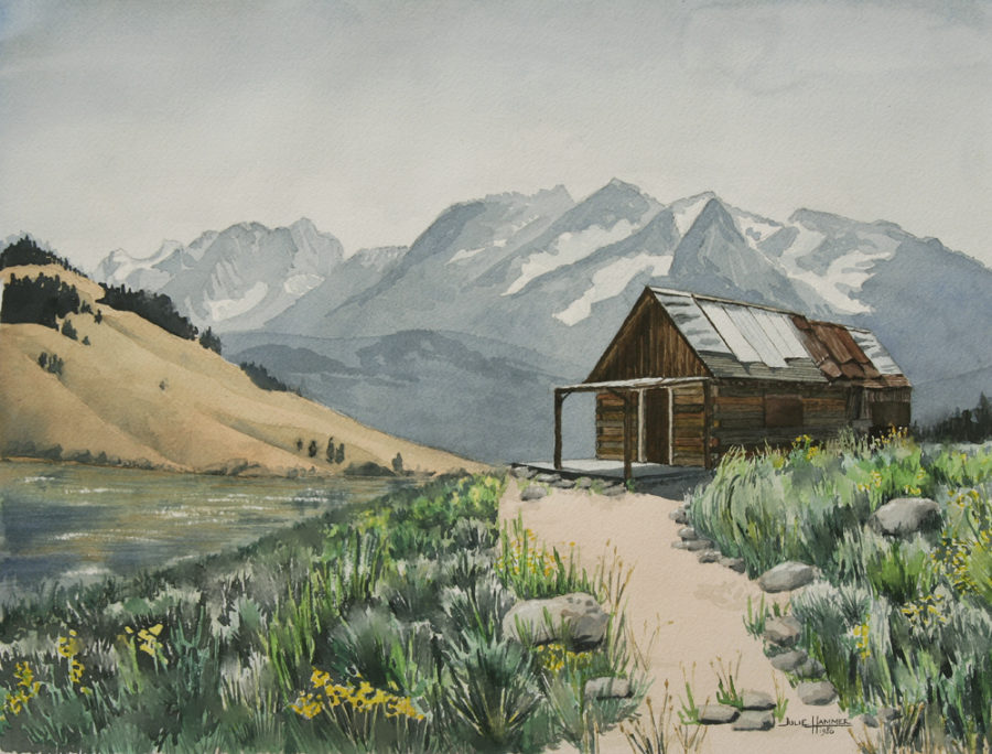 Cabin in Mountains