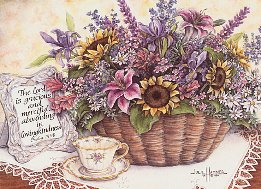 Flowers with Teacup