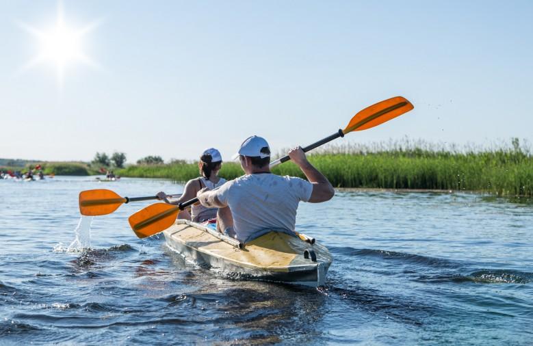 Rafting on the Vorskla River