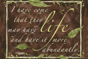 Life Abundant