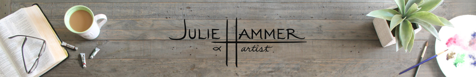Header image for Julie Hammer, artist