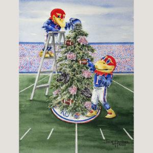 KU Jayhawk Football Tree