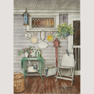 Porch with Blooms & Blossoms